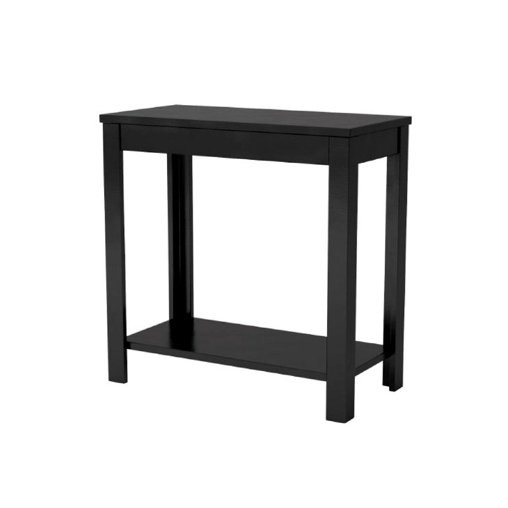 loft end table black wood living room dorm small narrow lcl tables tall sofa side coffee shelf storage comfortable indoor rectangular modern ebook leons dining sets mirrored clear