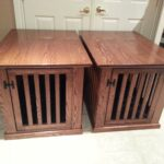 made couple dog crate end tables solid oak and ton crates that look like mortise tenons magnolia farms fixer upper hours operation promo code off antique drum table breegin 150x150