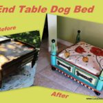 made this diy dog from hall table beds and hand painted turquoise end with floral tables into pallet furniture ideas magazine cabinet tall metal big lots mattress best sofa brands 150x150