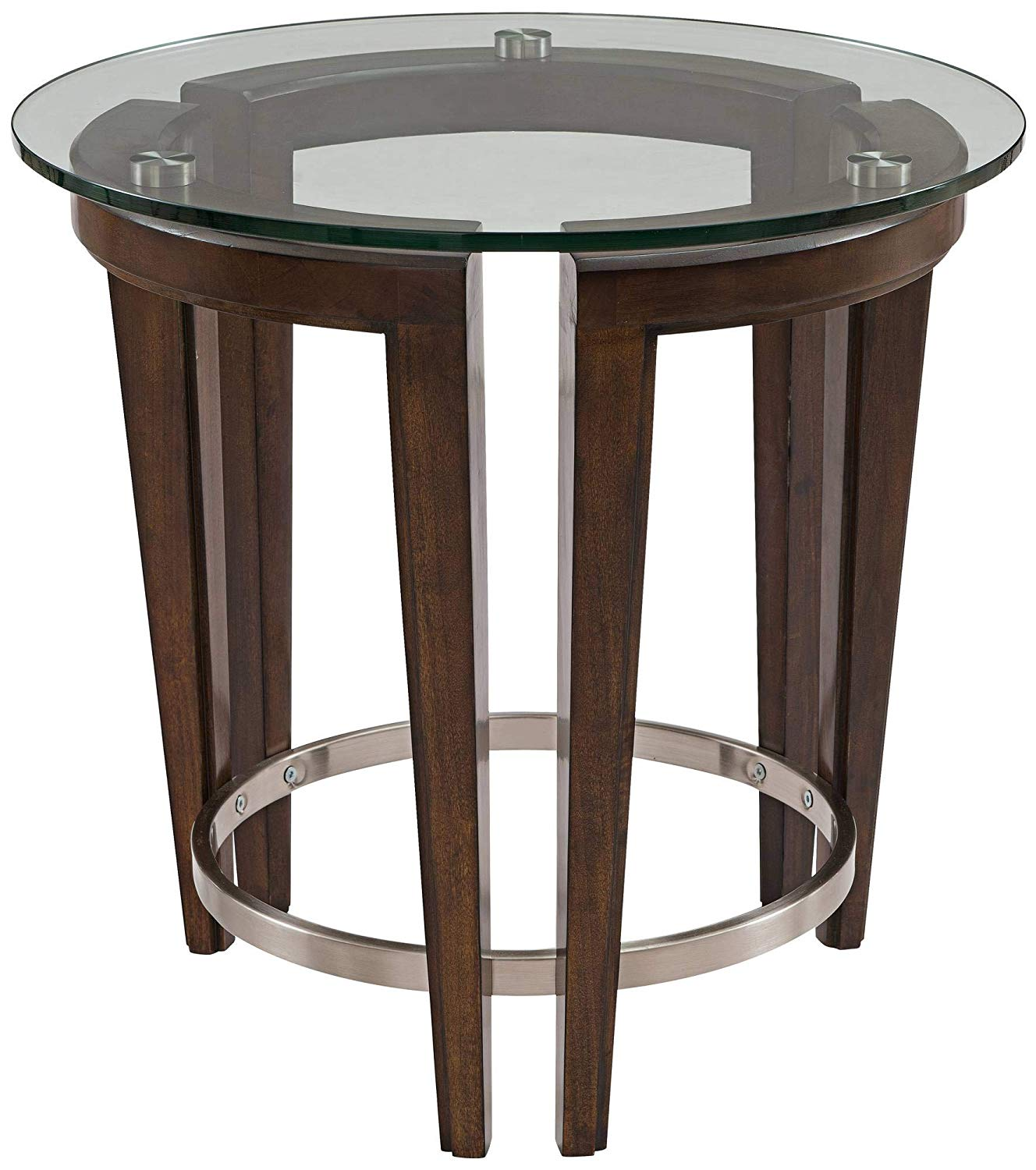 magnussen carmen round end table kitchen dining furniture tables thomasville headquarters plexiglass coffee top acme queens pillows for brown leather couch ethan allen secretary