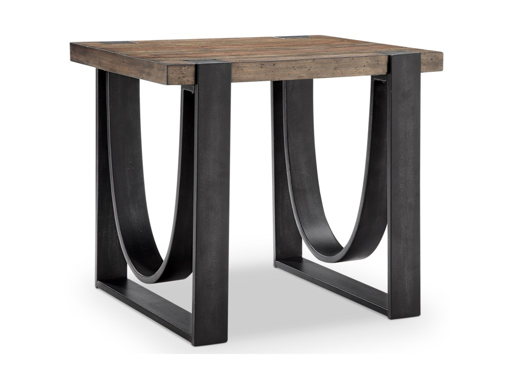 magnussen home bowden rustic rectangular end table solid wood products color furniture tables outdoor patio small round marble top coffee metal side vintage mahogany modern floor