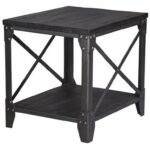 magnussen home milford rectangular end table with shelf darvin products color furniture tables milfordrectangular ethan allen secretary desk metal tray coffee glass top dining 150x150