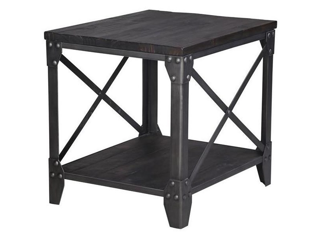 magnussen home milford rectangular end table with shelf darvin products color furniture tables milfordrectangular ethan allen secretary desk metal tray coffee glass top dining