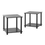 mainstays tools cube multiple colors end tables set black larkinhurst queen sofa sleeper ashley furniture specials inch high table pulaski reclining west elm parsons buffet 150x150