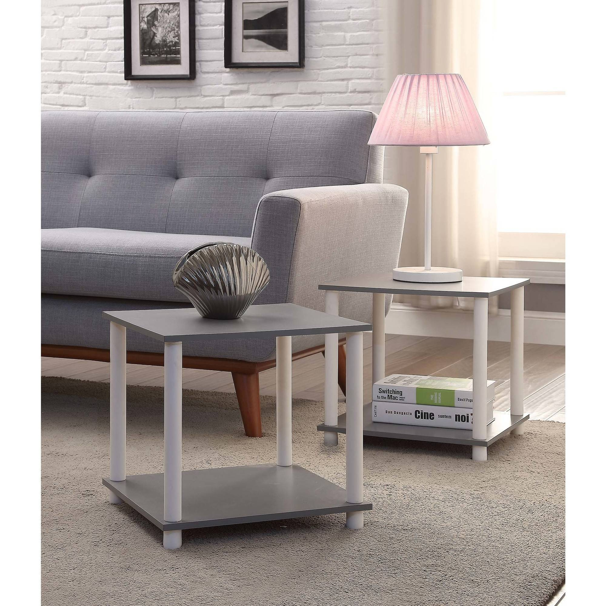mainstays tools cube multiple colors end tables set black rugs that with brown couch round glass top table ashley furniture specials small solid wood coffee unfinished computer