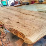 making cherry wood table from log end tables made logs brass top side rafferty lexington marble target ethan allen french country bedroom pallet coffee instructions entryway 150x150