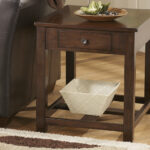 marion end table ashley home crop furniture living room and side tables pet kennel lakeland mills sauder entertainment jofran dining elegant floor lamps kitchen curtains for brown 150x150