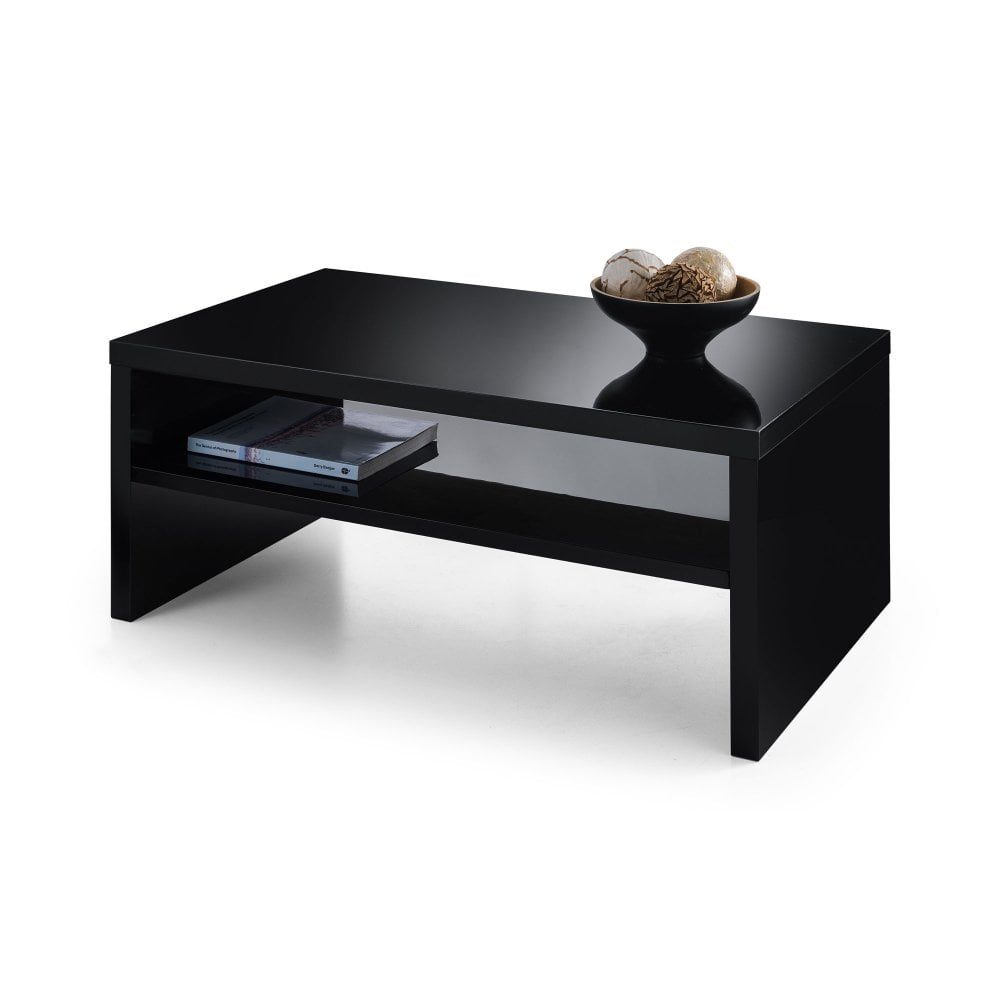 metro black high gloss coffee table julian bowen leader end ashley furniture super thomasville collectors cherry bedroom set small modern raw wood kitchen ceramic outdoor side
