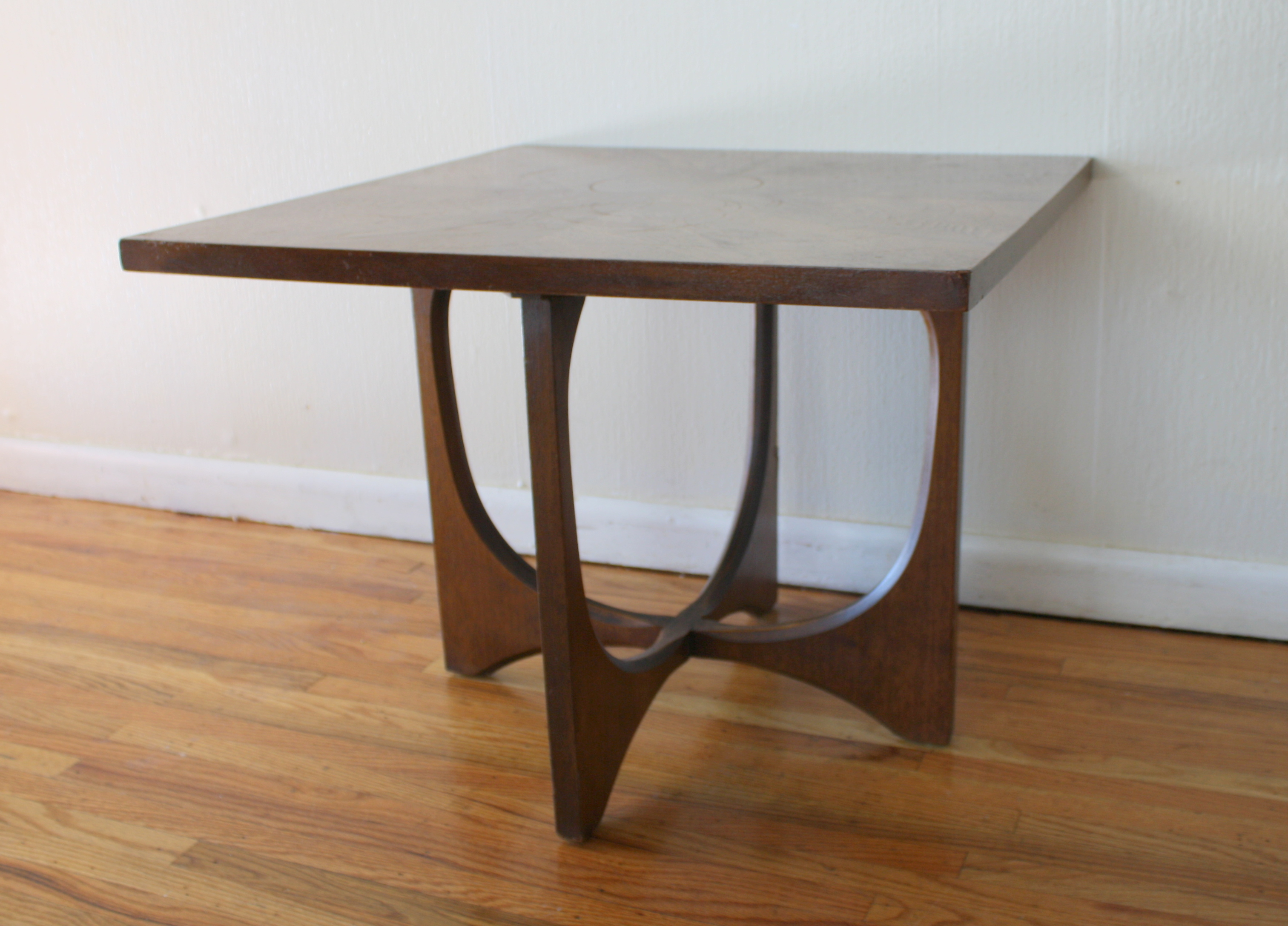 mid century modern broyhill brasilia coffee and side end tables square table ked vintage short glass bedside unfinished furniture showcase kmart coupon code bulb floor lamp ethan