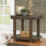 millwood pines stackhouse rustic end table reviews tables furniture row corporate office small sitting room design genuine leather black sofa simple behind couch ikea kmart 150x150