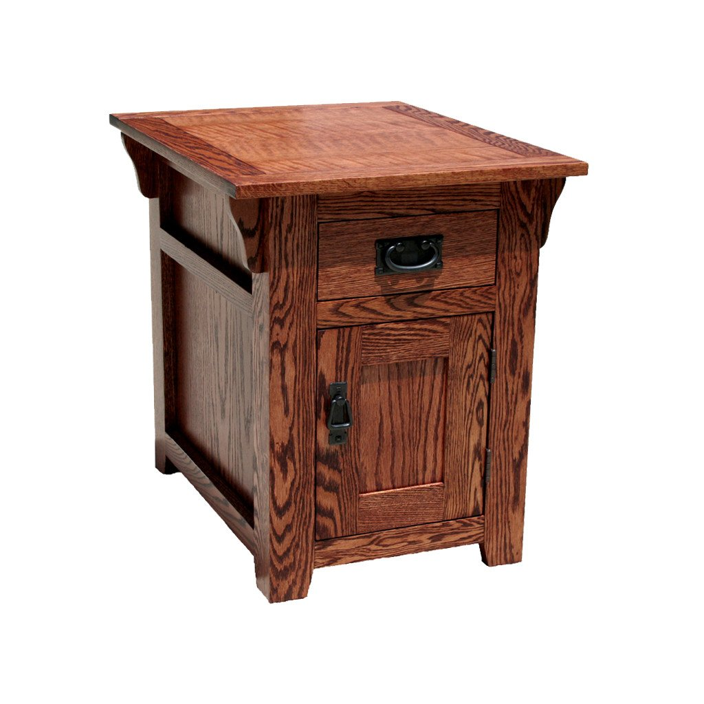 mission oak fully enclosed end table bedroom tables for less ping console laura ashley occasional chairs best stain pine wood ethan allen ideas pallet side used solid furniture