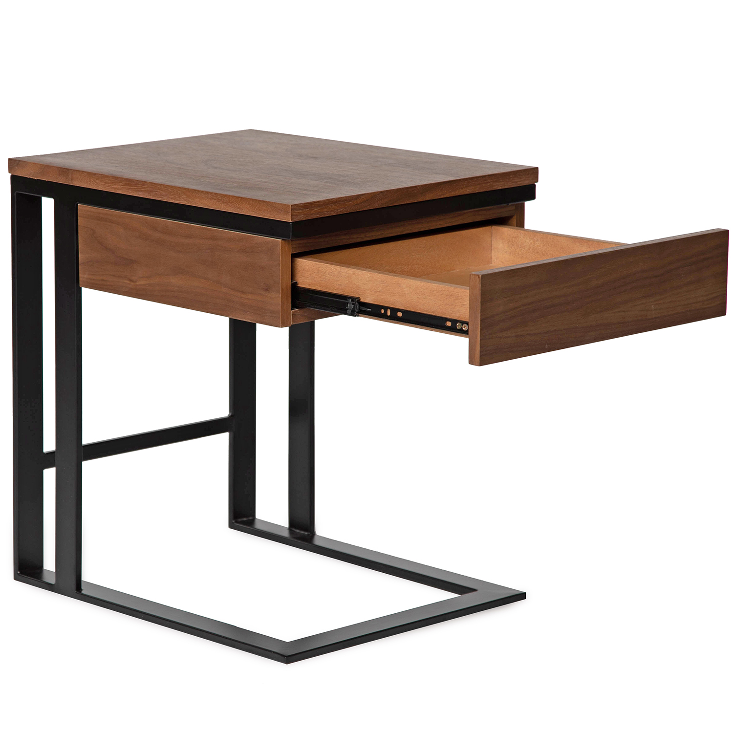modern end table with storage walnut finish tables black round coffee and winsome espresso pulaski accent chest furniture pallet seating ideas console target ashley leather