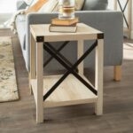 modern farmhouse white oak side table pier end tables thank you mor furniture dining used stanley room round outdoor bbq weather bedside alternatives unfinished small desk glass 150x150