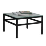 mom urban designs city collection end table with tempered frosted glass black frame dark blue painted dresser ethan allen paintings inch coffee ashley microfiber couch decorating 150x150