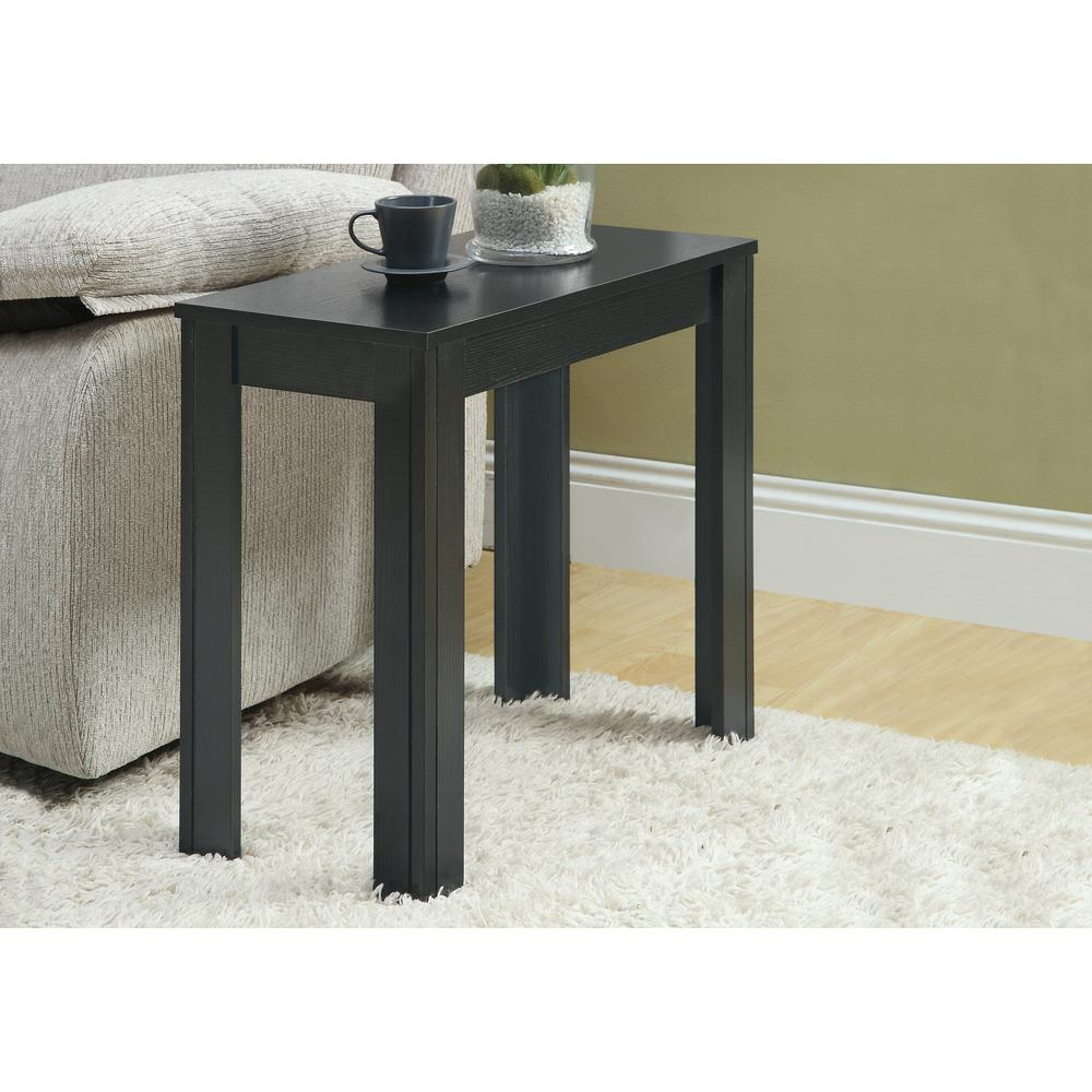 monarch specialties black oak side table the end tables riverside sierra collection ashley furniture show small white metal target hairpin legs wooden painting ideas elana nesting