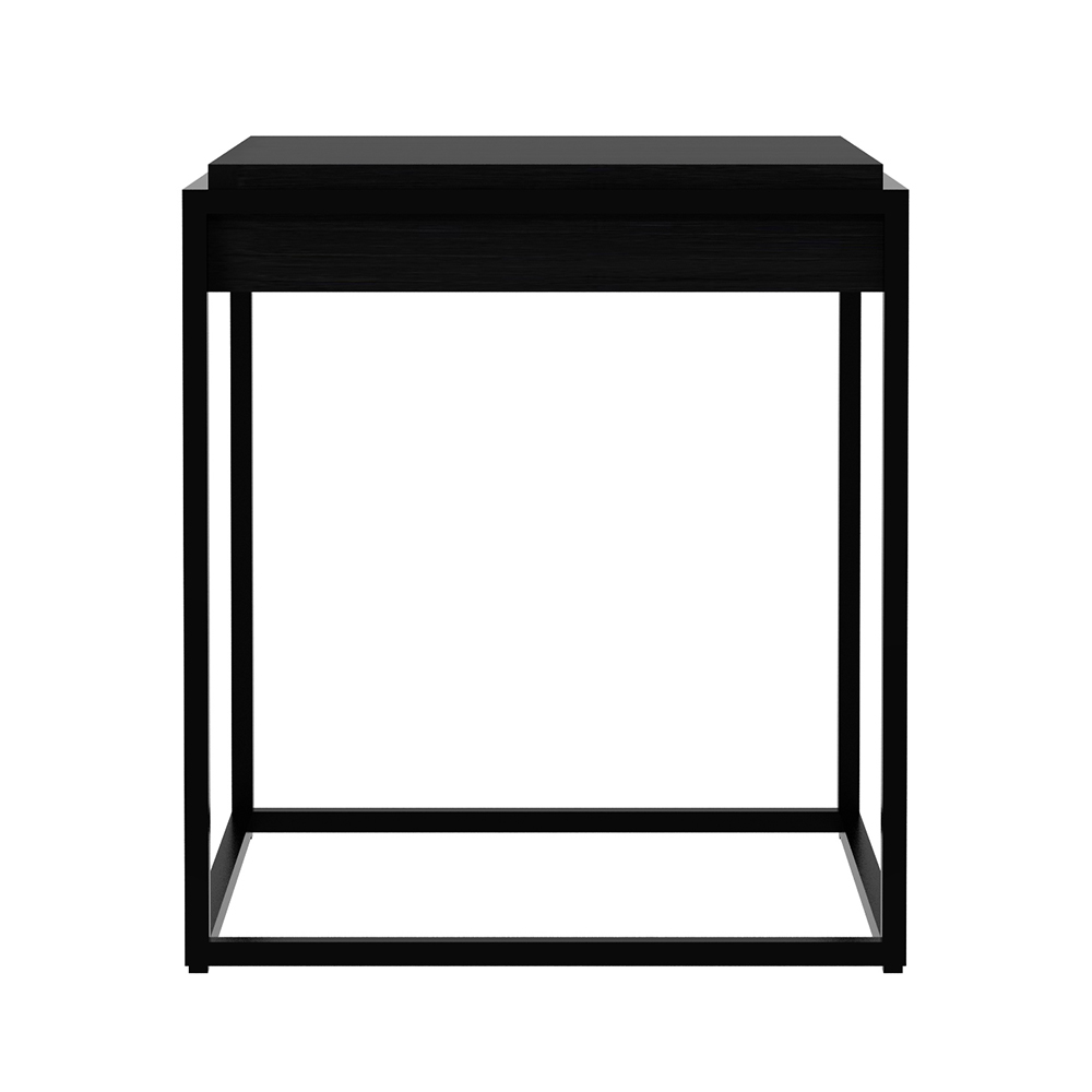 monolit side table black oak rouse home end tables diy kennel small white metal propane fire pit set universal high top ashley furniture adjustable coffee dining luxury modern