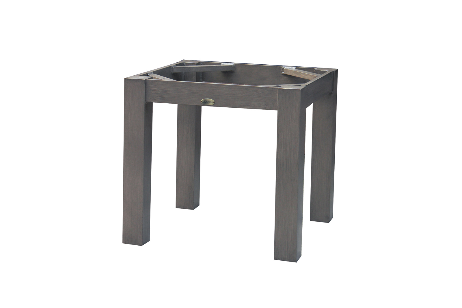 montreal end table base square top ratana tables cylindrical bedside rectangular metal side ethan allen furniture made usa ashley couch warranty antique set steel coffee designs