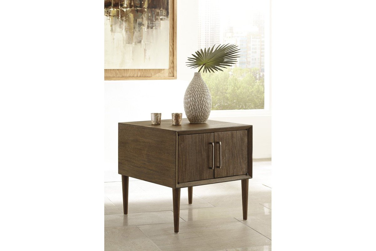 mor furniture twitter our kisper end table offers convenient tables use beside sofa for the ultimate nightstand morfurniture living room sets krisper html discontinued ashley