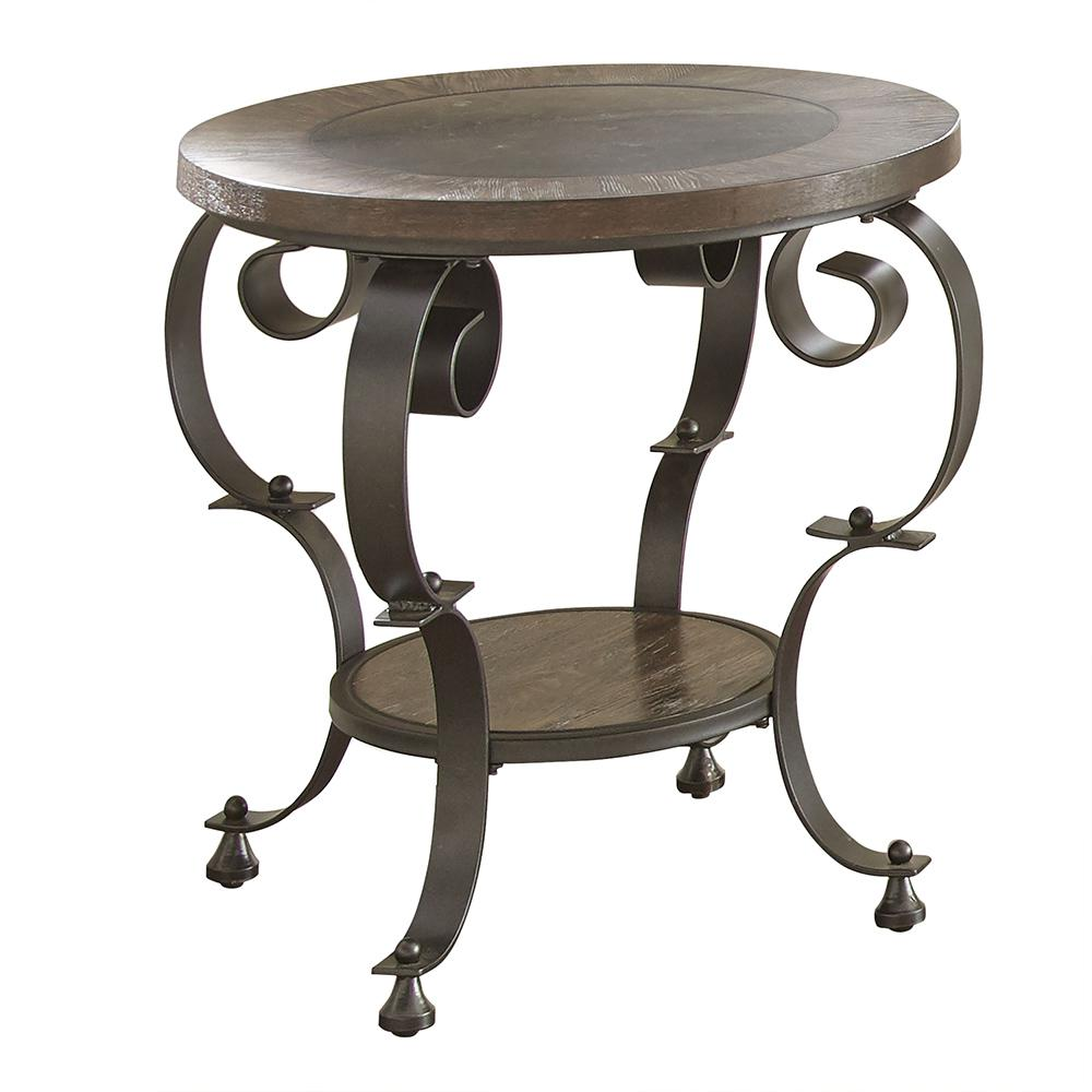 mulberry round end table the dark brown tables wood small circle glass ashley marble top coffee distressed ideas cherry oak furniture sheet for lazy boy clearance zenfield chair