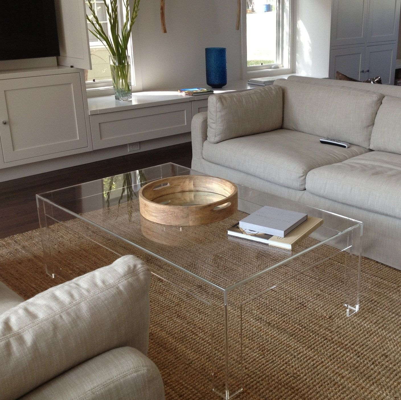 must see acrylic coffee tables for transparent display living plexiglass end room table furniture lucite rectangle wood nic tree stump diy unfinished island counter height kitchen
