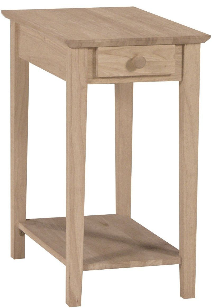 narrow end table products sofa tables unfinished furniture free shipping our multi use crafted solid parawood hardwood and can used phone riverside console pallet crate ideas