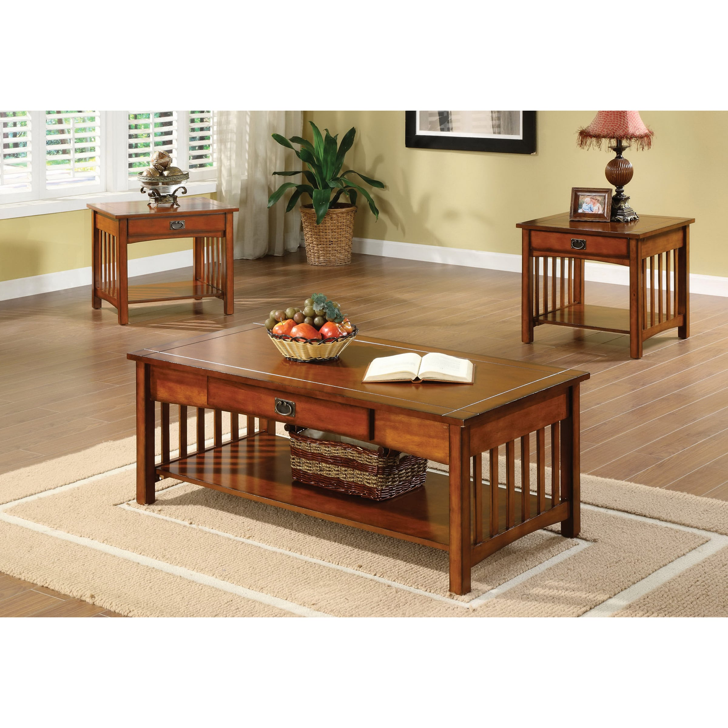 nash mission antique oak piece accent tables set foa furniture america style finish coffee end table and free shipping today best dining display powell chairs gray top target