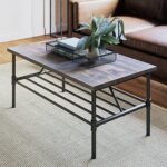 nathan james maxx industrial pipe metal and rustic wood coffee black end table gray home kitchen toscana floor lamps laura ashley christmas cushions wicker patio storage small 150x150