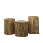 natural tree stump side table fair hotel supply end high modern dining tables living room furniture names decorating ideas using black leather outdoor lounge chairs clearance 150x150