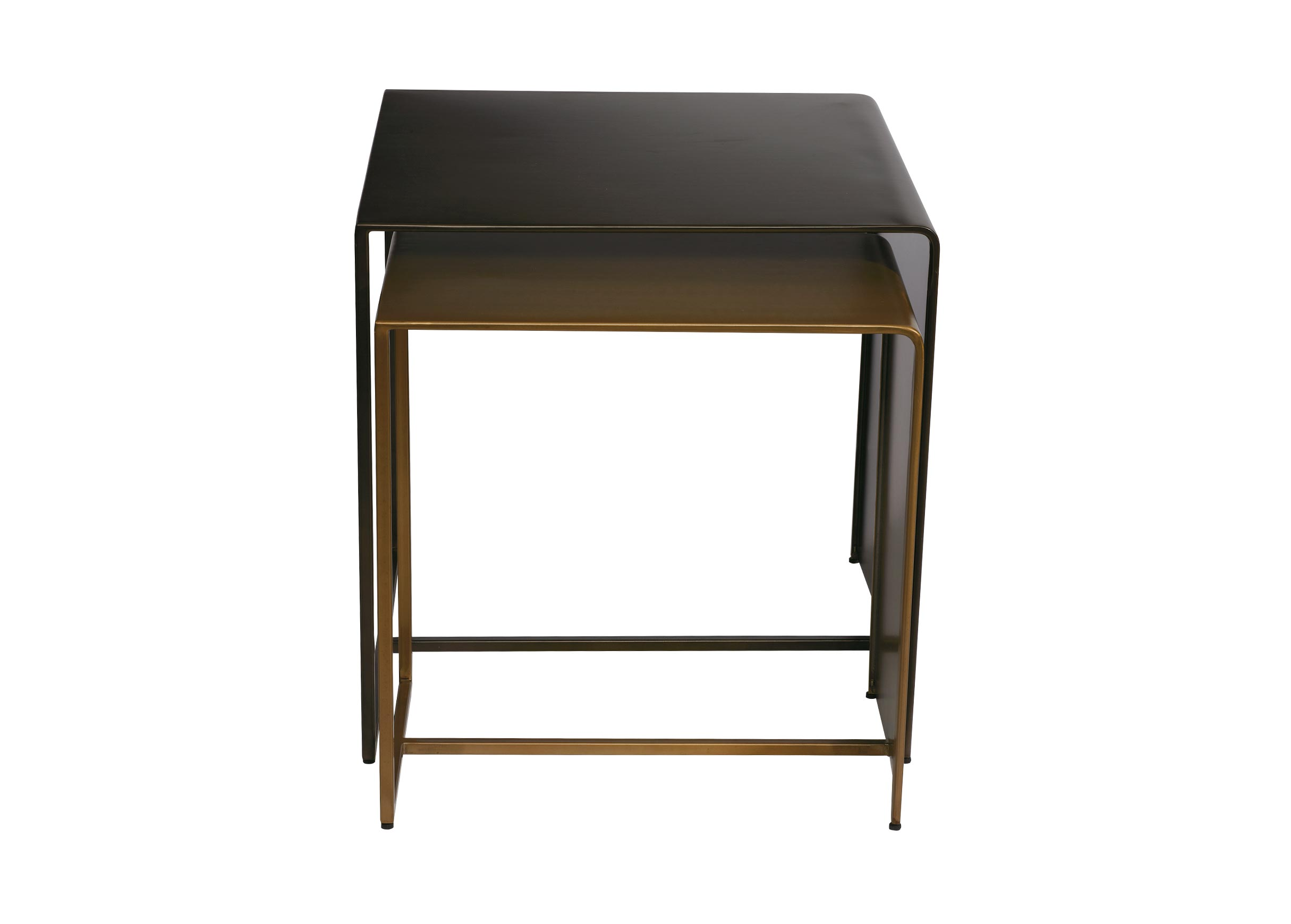 navina square metal nesting tables ethan allen accent end golf bag rain cover unique dining chairs farmhouse style nightstands unfinished furniture toledo hanging bedside table