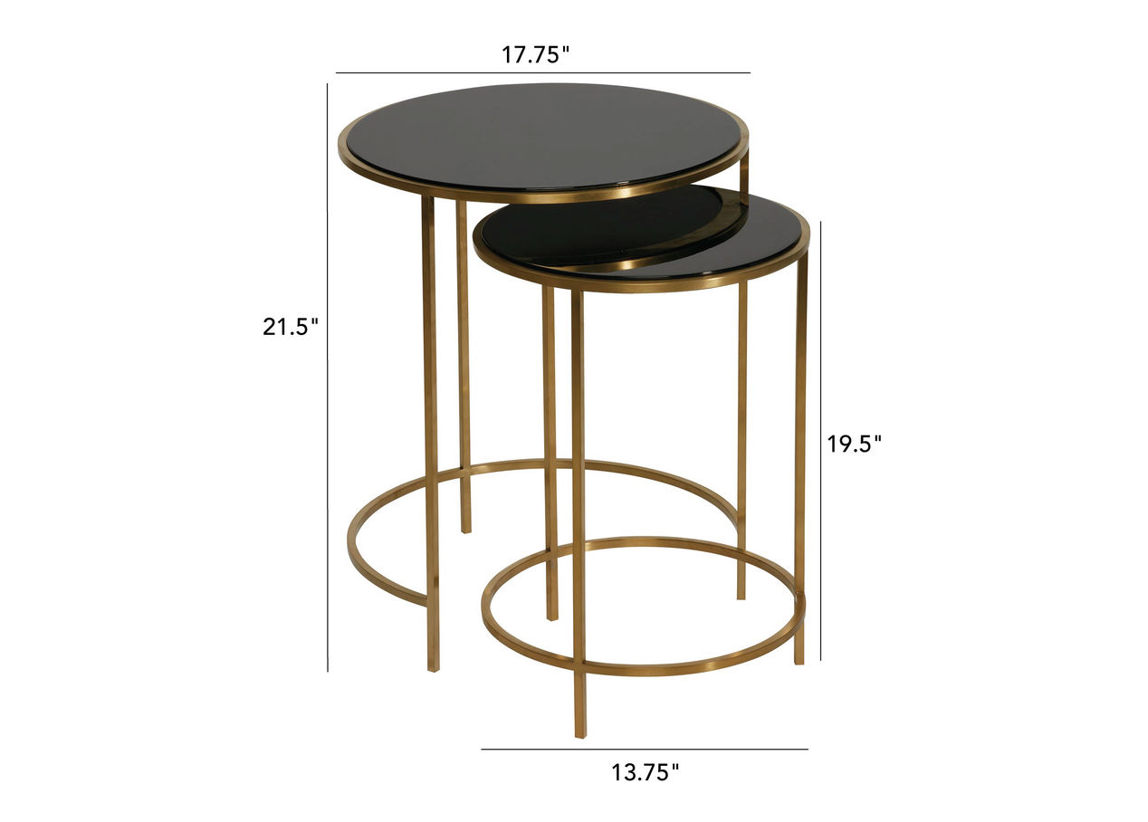 nayeli round lacquerware nesting table ethan allen accent dimension end tables whalen furniture retailers diy indoor puppy pen iron glass large dog kennel homesense victoria