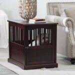 new wooden pet crate end table kennel cage furniture dog small pen indoor house supplies laura ashley dinnerware sets overly fire pit and chairs set pipe frame coffee tan leather 150x150