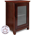 night stand easiest assembly tools required two shelf wooden stony edge folding wood nightstand desk bedroom side table brown end glass door simple square coffee exclusive dining 150x150
