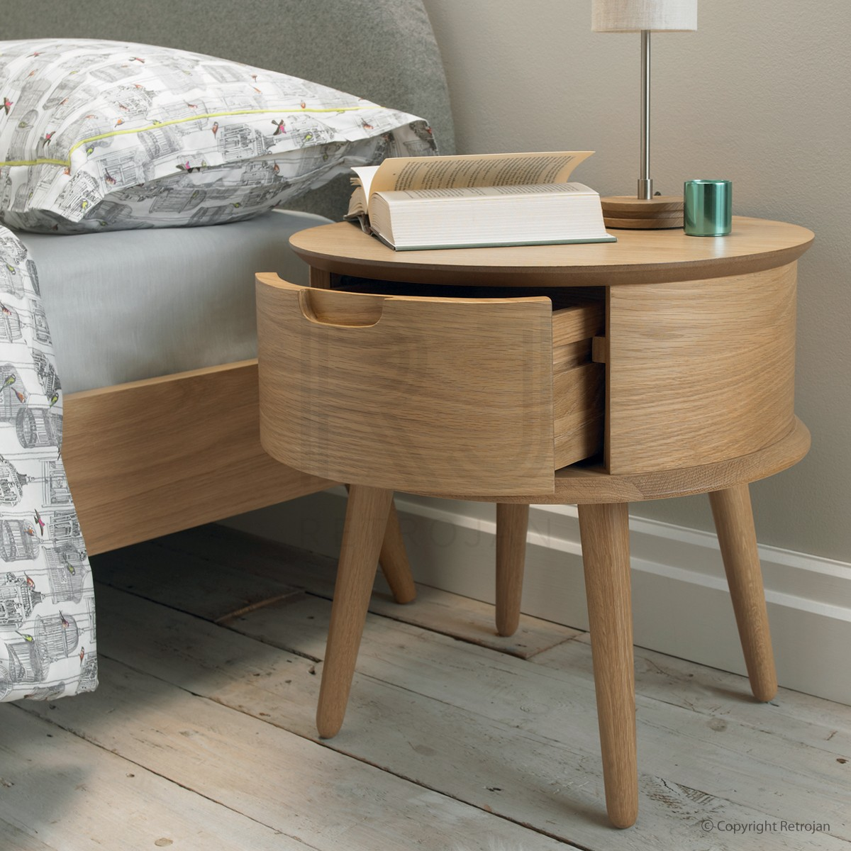 night stand with storage round nightstand bedside tables nightstands bedroom end distressed coffee vintage ethan allen couch lamps and floor small brown side table ashley