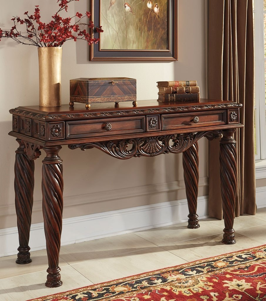 north shore dark brown living room set millennium review sofa table ashley end office furniture names used round coffee magnolia market slate top king bedroom collection red