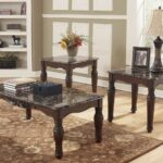 north shore faux marble coffee table set ashley furniture and end tables occasional sets toscana chairside long side with drawers dark brown living room rustic entrance target 150x150
