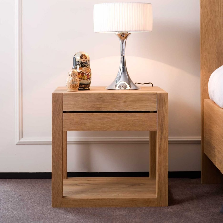 oak bedroom side table drawer dresser nightstand cute nightstands cherry wood hanging end tables black metal pipe furniture teal bedside with storage glass patio accent ethan