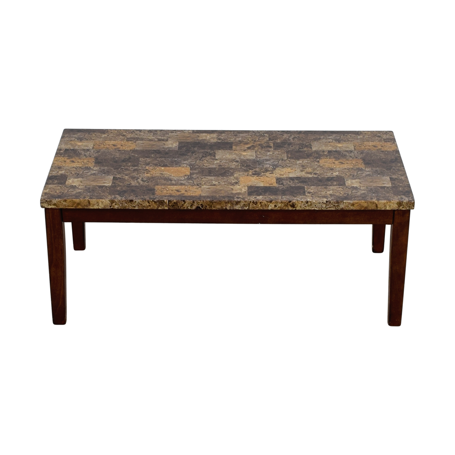 off ashley furniture faux marble coffee table used top end tables open cube rugs for dark brown skinny black nightstand affordable accent rustic trunk inch wide side kmart clothes