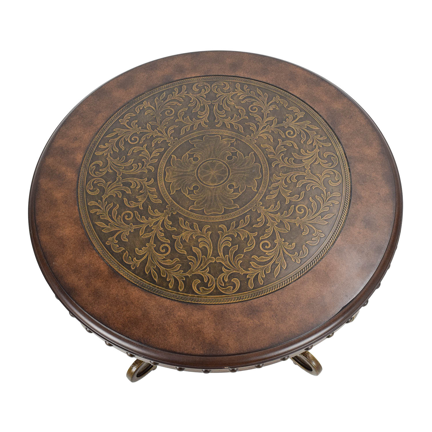 off ashley furniture rafferty round end table tables broyhill locations making dog for large small blue side drum living room ethan allen american impressions curio cabinet when