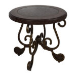 off ashley furniture rafferty round end table tables second hand liberty treasures porter dining distressed with drawers factory indoor dog crate ideas wesling coffee tall black 150x150