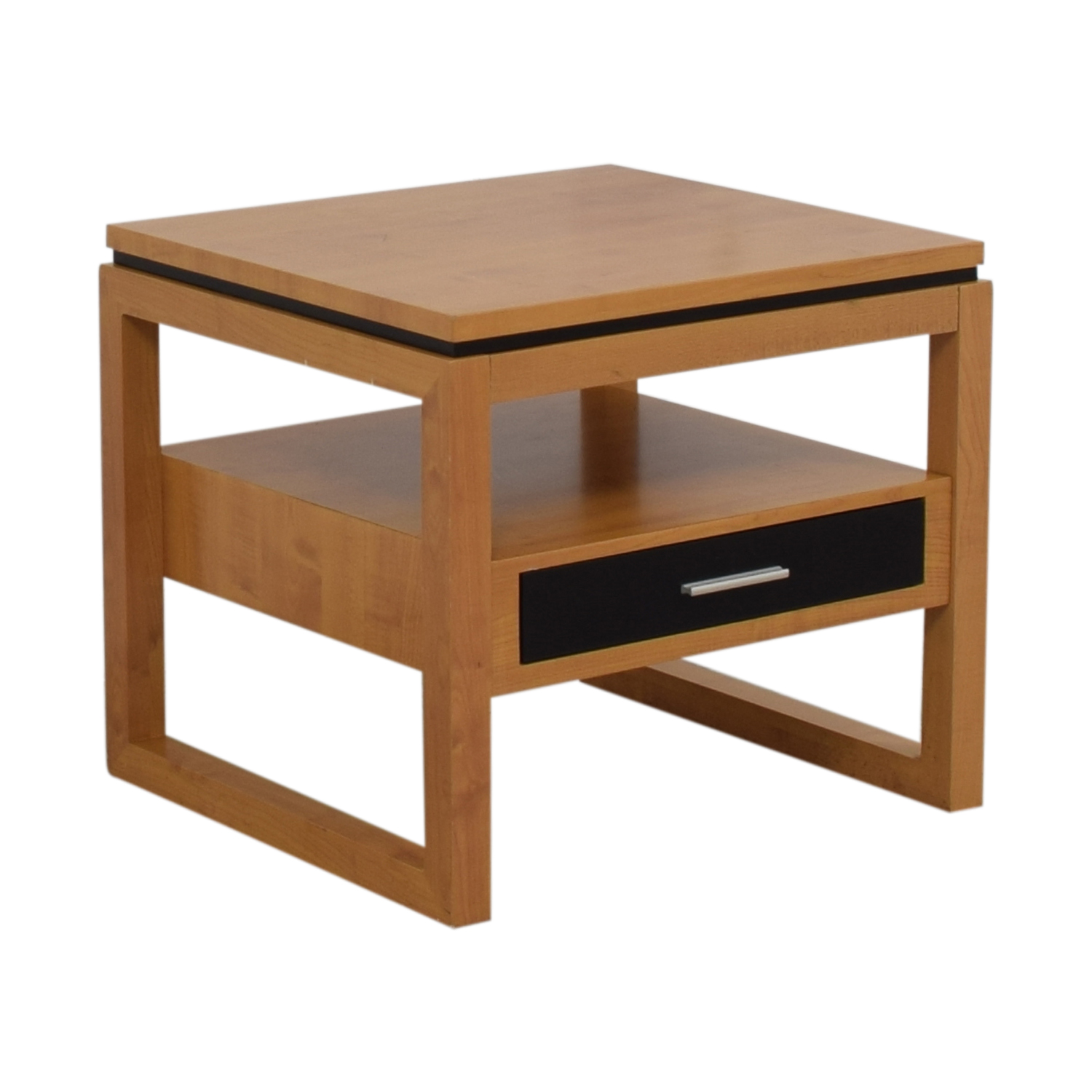 off coaster fine furniture black single drawer natural second hand finish end table tables long night chair with side tanner wicker dining glass top ashley lift coffee home promo