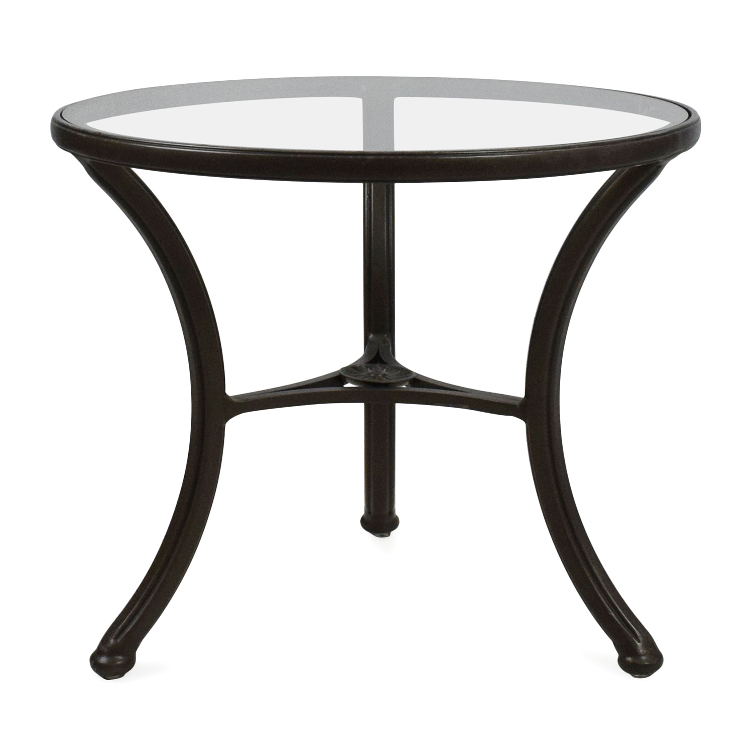 off ethan allen glass side table tables end legendary furniture consignment accent colors for brown couch white console with storage steampunk classic touch massage sheffield