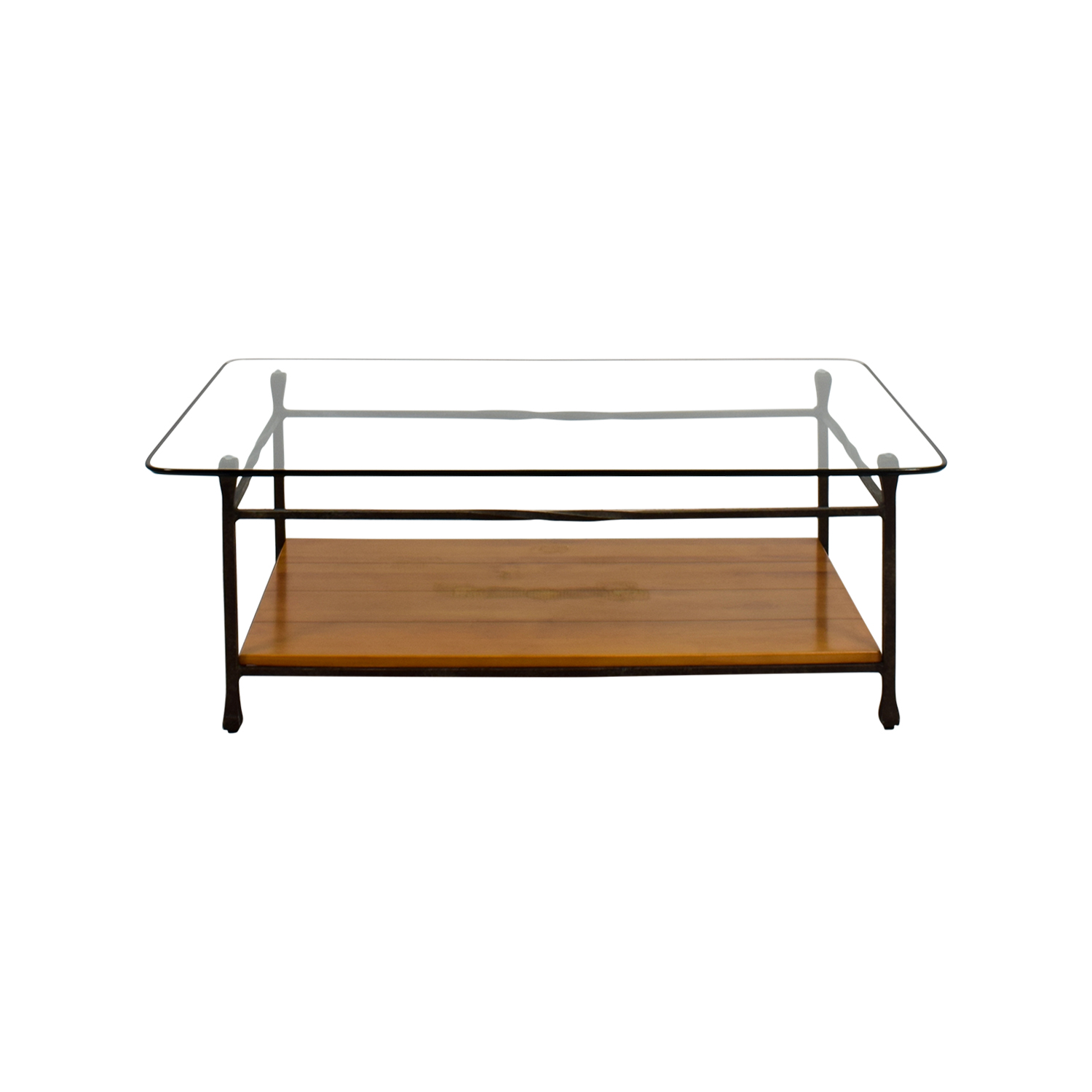 off ethan allen glass wood coffee table tables and end cappuccino nightstand farmhouse cottage furniture spray paint frame can you ott trays home decor laura ashley bedspread sets