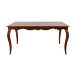 off ethan allen juliette wood dovetailed dining table end tables craigslist sauder bedside mainstays with media stand queen anne cherry coffee replacement glass top for patio 150x150
