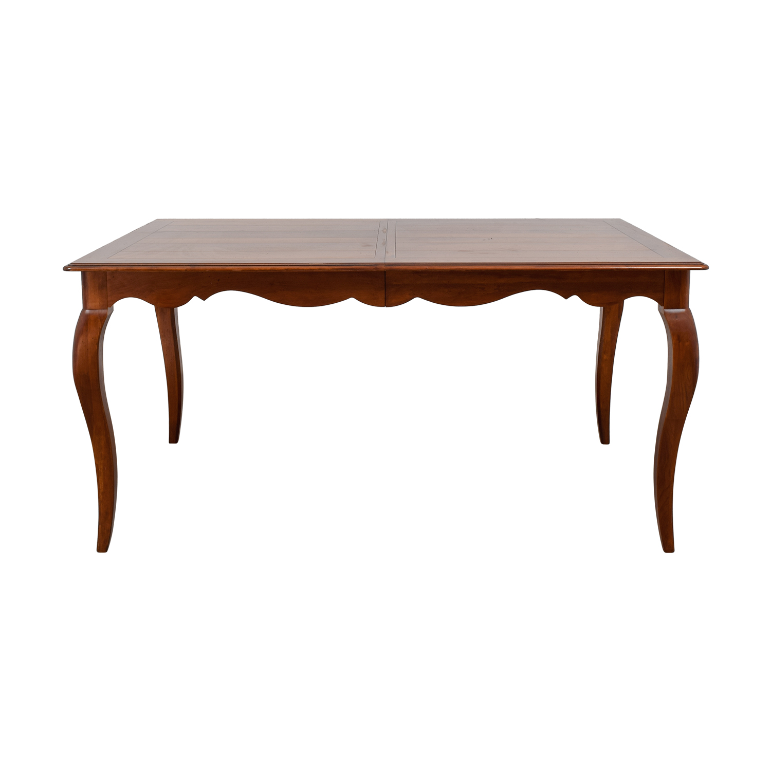 off ethan allen juliette wood dovetailed dining table end tables craigslist sauder bedside mainstays with media stand queen anne cherry coffee replacement glass top for patio