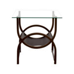 off glass and wrought iron side table tables end ethan allen accessories world market used oak furniture thomasville craigslist brown living room ideas extra high dog crates 150x150