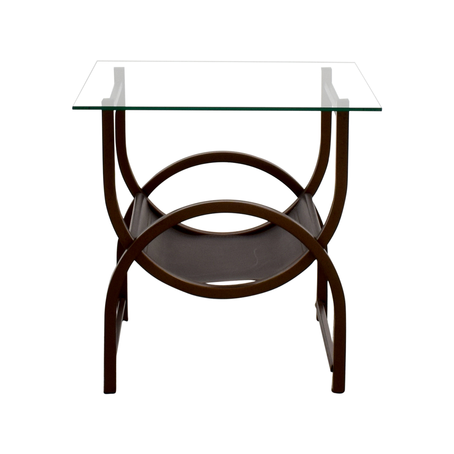 off glass and wrought iron side table tables end ethan allen accessories world market used oak furniture thomasville craigslist brown living room ideas extra high dog crates