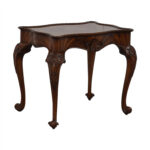 off maitland smith dovetailed wood end table second hand tables lexington console wooden coffee with storage drawers lazy boy sofas whole antique style walnut and black gloss 150x150