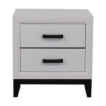 off modern white two drawer nightstand tables grey bedroom end leons stoves rustic sofa table ideas ethan allen kids set inch wide console pallet living room layout loveseat 150x150
