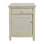 off pottery barn white distressed nightstand tables ivory end amish built bedroom furniture wood cube table glass top for outdoor chrome and discontinued uttermost lamps split log 150x150