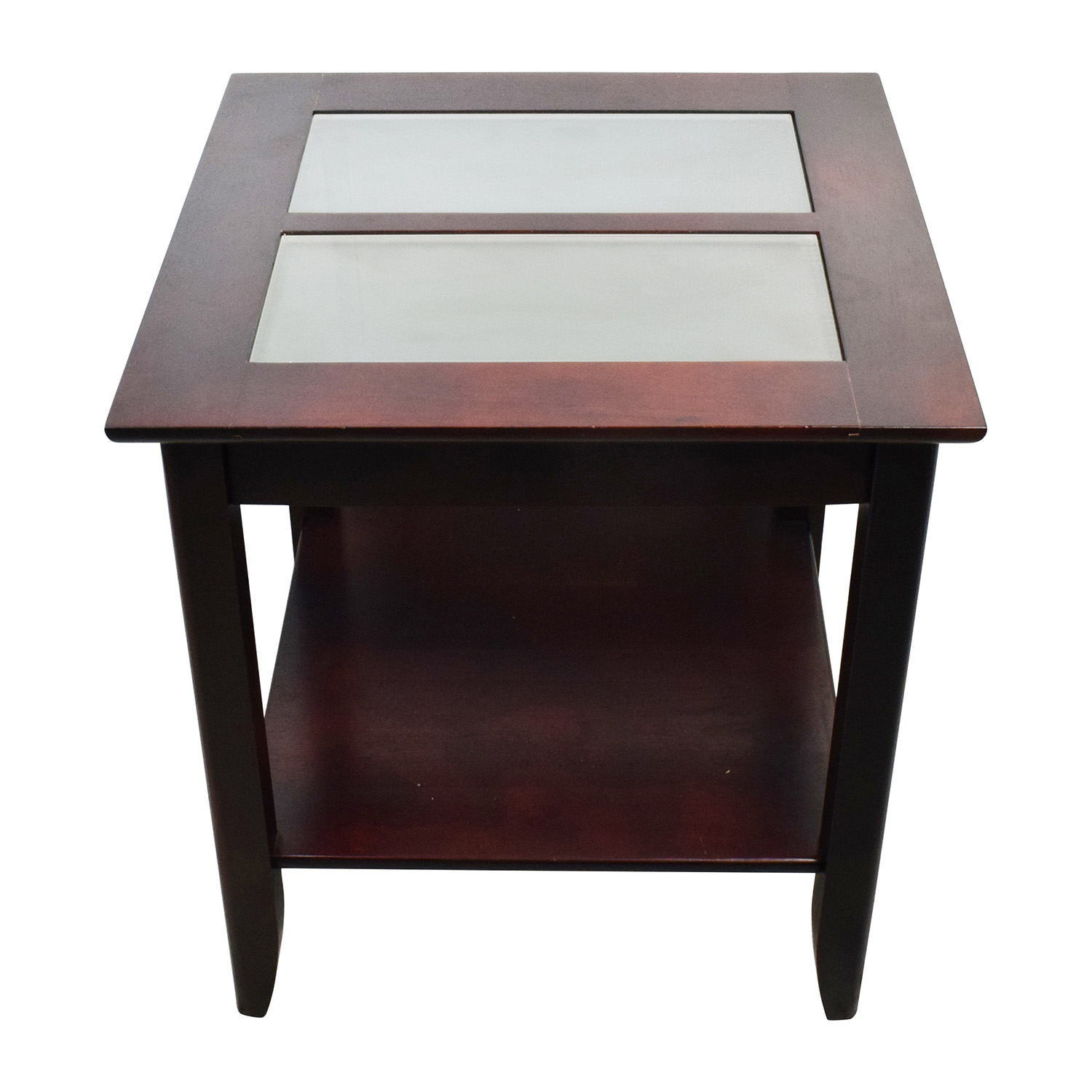 off target glass and wood coffee table tables furniture end nexera row companies uttermost accent black metal inch nightstand gray pillows brown couch folding high top whalen